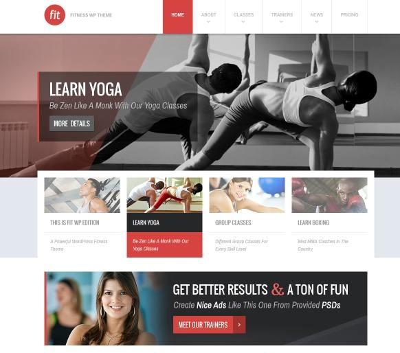health clinic Web design