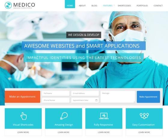 spa WordPress Web design