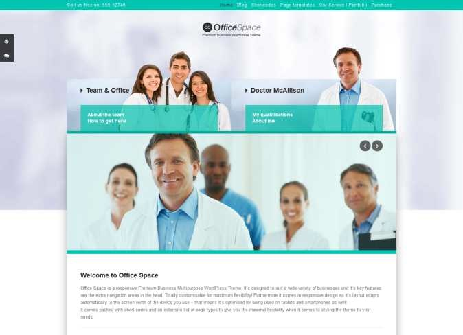 therapy WordPress Web design