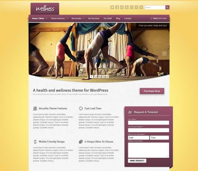 mobile-ready WordPress Web design