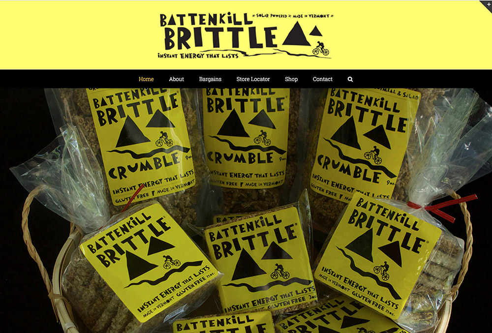 Battenkill Brittle Food Manchester Center Vermont