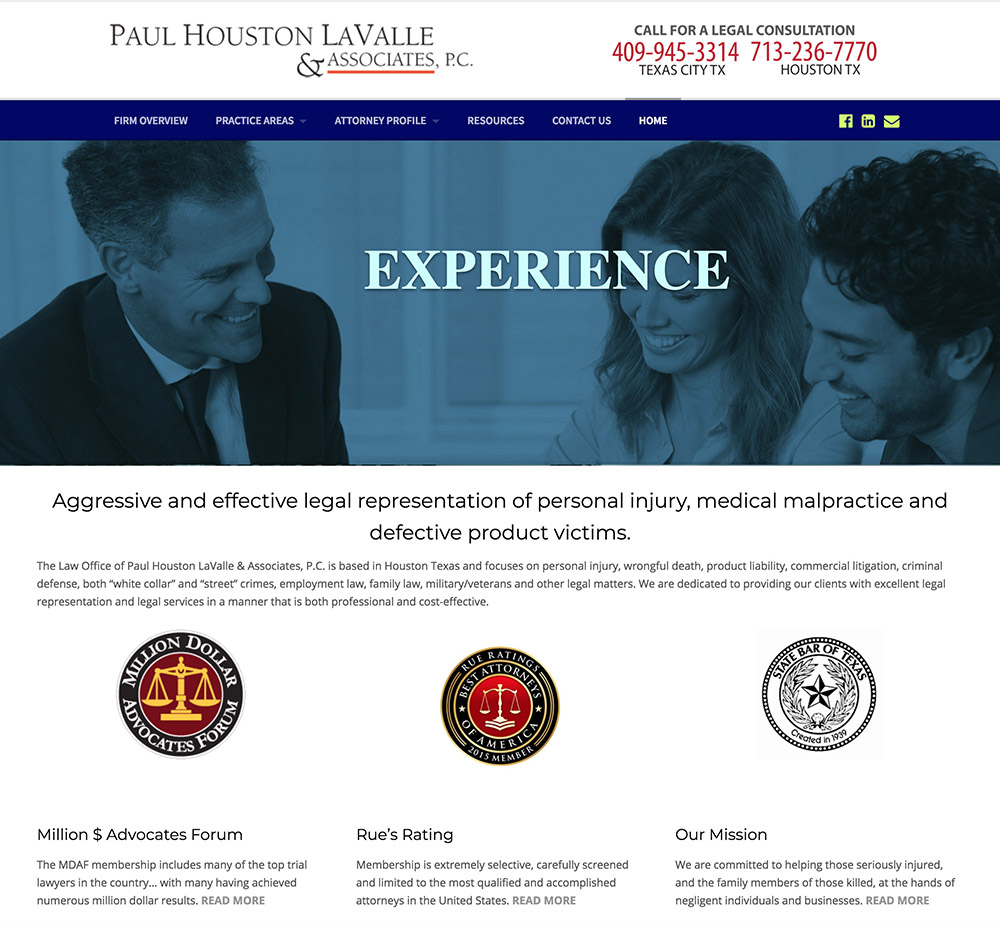 LaValle Law Firm Houston TX