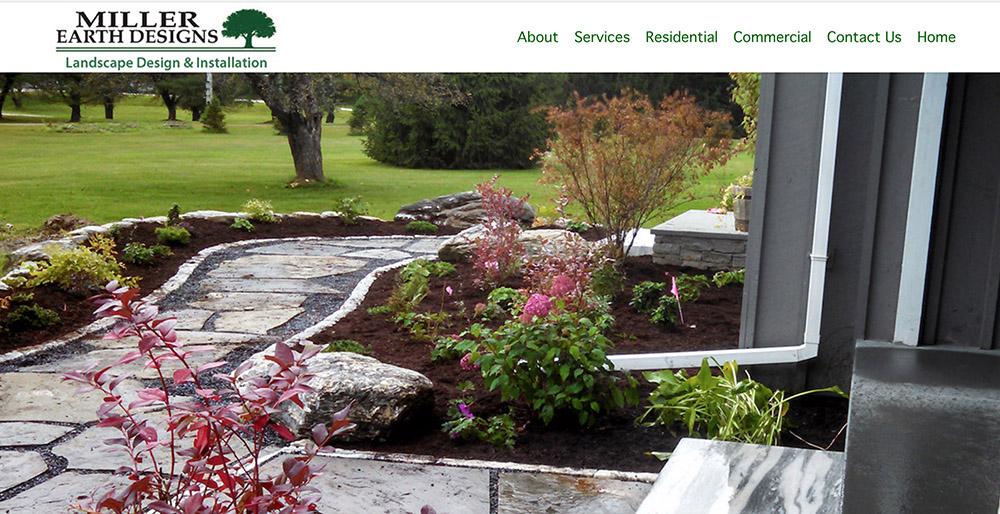 Miller Earth Landscape Designs Vermont New Hampshire